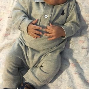 Ralph Lauren Baby Boy Coverall